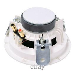 Bluetooth Ceiling Music Kit -pro Amp & 4x Mini Flush Haut-parleurs- Stereo Hifi Sound