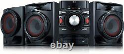 Bluetooth Home Audio Stereo System Haut-parleurs 700w CD Player Fm Radio Usb Record