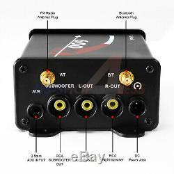 Bluetooth Vtt Polaris Rzr Utv Haut-parleurs Stéréo Marine Audio Amp 600w Système Radio