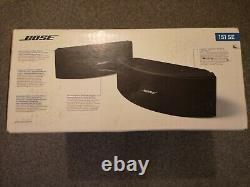 Bose 151 Haut-parleurs Externes En Plein Air Full Stereo Music Sound Black Nouveau