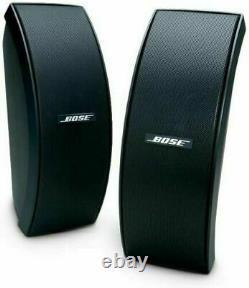 Bose Outdoor Speakers Full Stereo Music Sound Black New Entièrement Résistant Aux Intempéries