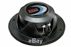 Boss Audio 6.5 Mr60b Paire Black 2 Voies Stéréo Marine Bateau Outdoor Speakers