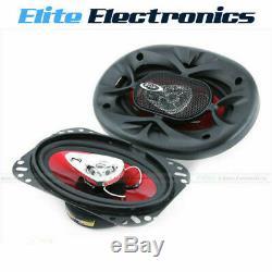Boss Audio Chaos Ch4630 4x6 3-way 250w Max Stereo Coaxial Haut-parleurs 4 X 6