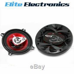 Boss Audio Chaos Ch5530 5.25 3 Voies 225w Stéréo Avant Coaxial Haut-parleurs De Voiture