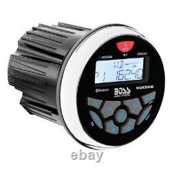 Boss Audio Mgr350b Marine Gauge Style Radio Mp3/cd/am/fm/rds Récepteur