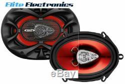 Boss Ch5730 5x7 Chaos 3 Voies 300w Rms Stéréo Arrière Coaxial Car Audio Intervenants