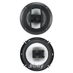 Boss R63 6.5 Inch 300w 3 Way Audio Coaxial 4 Ohm Stéréo Paire De Haut-parleurs (8 Pack)