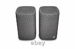 Cambridge Audio Yoyo (m) Haut-parleurs Bluetooth Stéréo (gris Foncé) Remis À Neuf