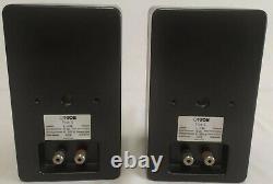 Canton Plus S Mini Diffusori Haut-parleur Audio Stéréo Impianto Hifi Casse Vintage