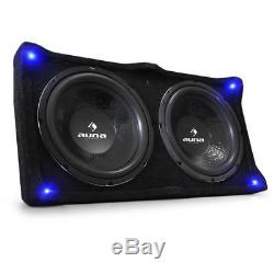 Car Hifi Stereo Sound System 6000w Amp 4 X Parleurs Caisson Haut-parleur Loud