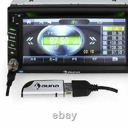Car Radio Bluetooth Stereo Audio Mp3 Musique Haut-parleur Son Surround Usb