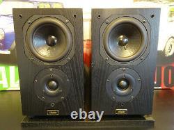Chario Syntar 100 2 Way Monitor Bibliothèque Principale Haut-parleurs Stéréo Hi End Audio