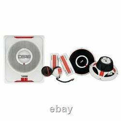 Ds18 Sq2 8 6.5 Sound Q 3 Way Component Car Stereo Speaker Sub Woofer Kit