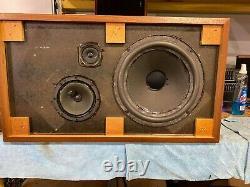 Electro-voice Ev-15 Quinze Stéréo 3-way Speaker -serviced- Vintage Audio