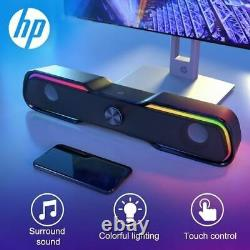 HP Filaire Haut-parleur Soundbar Led Stéréo Subwoofer Audio Aux Président Surr
