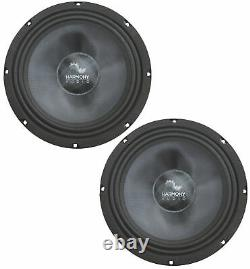 Harmony Audio Ha-cmb8 Voiture Stéréo Cabron Midbass Midbass Midrange 8 Haut-parleurs 4 Paires