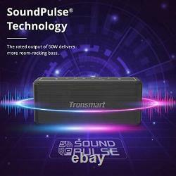 Haut-parleur Bluetooth, Haut-parleur Sans Fil Transsmart Mega Pro 60w Avec Son Stéréo