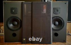 Haut-parleurs Audio Vintage Audiophile USA Jbl J2080 Match Paire 2.0 Stéréo 8 Ohm J