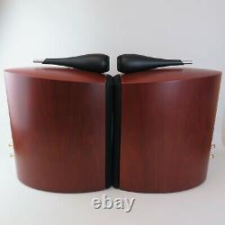 Haut-parleurs Stéréo B&w 805s En Bois De Cerisier En Boîte Avec Emballage Audio Idéal