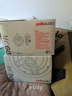 Haut-parleurs Stéréo In-ceiling Audio Polk (2) Modèle Mc60
