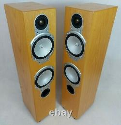 Haut-parleurs Stéréo Moniteur Audio Silver Rs6