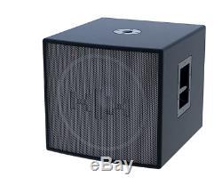 Hh 18 1200w Stéréo Active Sub Crossover 2 Subwoofer Bar Modes Audio 48%