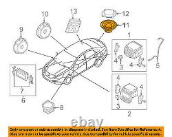 Hyundai Oem 11-14 Sonata Stereo Audio Radio-woofer Haut-parleur 963803s300