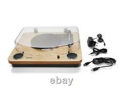 Ion Audio Max Lp Tourne-disque Avec Usb Intégré Dans Les Haut-parleurs Stéréo Nouveau
