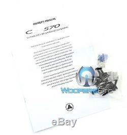 Jl Audio C2-570x 5x7 6x8 Intervenants Evolution Coaxial Soie Dome Tweeters Nouveau