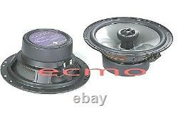 Jl Audio C2-650x Car Stereo 6.5 Haut-parleurs 2-way 100w Coaxial Speaker Nouveau