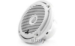 Jl Audio Marine Boat Stereo 6.5 Haut-parleurs Coaxiaux 6 1/2 Grille Classique Blanche Pr