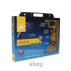 Jl Audio Xd-pcs4-2b Voiture Sub Amplificateur 700w Haut-parleur 2 Amp Kit D'installation 4 Awg Nouveau