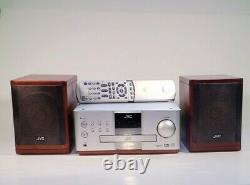 Jvc DVD Récepteur Numérique Ex-a1 DVD Audio Bois Cone Haut-parleurs Stereo Compact Mint