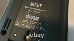 Kef T101 Stéréo Stéréo Sonne Haut-parleurs Super-plat Noir Excellent État