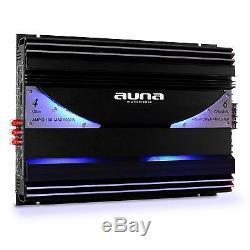 Kit Audio 4.1 Auto Altoparlanti 3 Vie Amplificatore Caisson De Basse Sistema Car Stereo