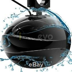 Led Étanche Atv Bluetooth Utv Rzr Polaris 4 Haut-parleurs Stéréo Système Audio Amp