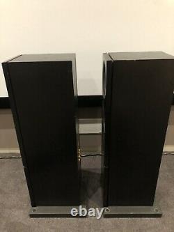 Linn Audio Keilidh Haut-parleurs Plancher Debout Black Ku Stone Base Pleinement De Travail