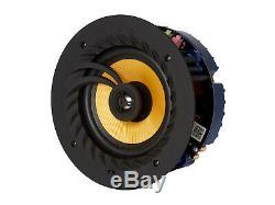 Lithe Audio 6.5 Bluetooth Haut-parleur De Plafond Paire D'enceintes (maître Et Esclave)