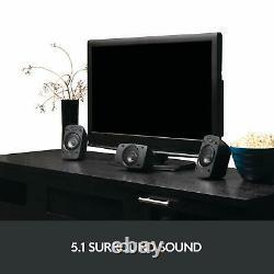 Logitech Z906 Haut-parleurs Stéréo 3d 5.1 Dolby Surround Thx Et Garantie 2 Ans Nouveau