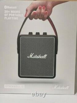Marshall Stockwell II Bluetooth Portable Speaker 20w Stereo Sound Black Rrp £220