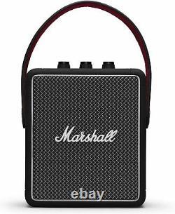 Marshall Stockwell II Haut-parleur Bluetooth Portable 20w Stereo Sound Black Rrp £220