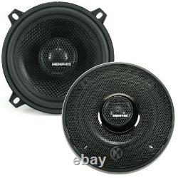Memphis Audio 15-mcx5 Car Stereo Mclass Series 5-1/4 2-way Coaxial Speakers Nouveau