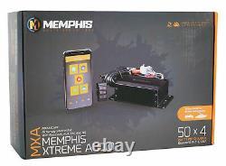 Memphis Audio Mxamcapp Hidden Marine Bluetooth Receiver+(2) Hifonics 8 Haut-parleurs