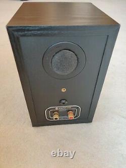 Moniteur Audio Bronze 1 Étagère Haut-parleurs En Chêne Noir