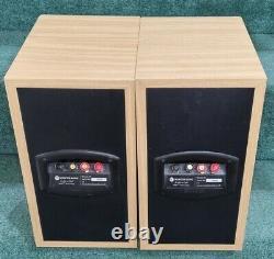 Moniteur Audio Bronze B2 Stéréo Bookshelf Bi-wireable Haut-parleurs Finition Chêne Léger
