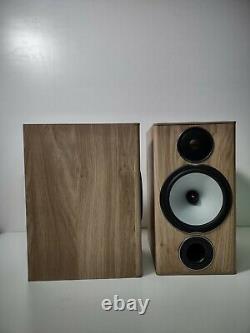 Moniteur Audio Bronze Bx2 Bibliothèque 2 Voies Stéréo Haut-parleurs Chêne