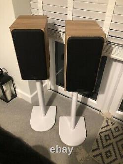 Moniteur Audio Bronze Bx2 Haut-parleurs Stéréo Hi-fi (chêne Naturel)