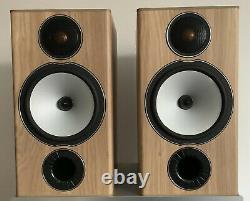 Moniteur Audio Bronze Bx2 Hi-fi Haut-parleurs Natural Oak
