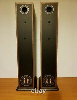 Moniteur Audio Bronze Bx5 Haut-parleurs Stéréo Debout (bois Walnut)