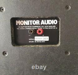 Moniteur Audio R852md Stereo Speakers, Vrai Placage En Noyer